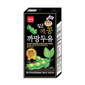 WANG Soybean & Sesame Drink 6.42 floz