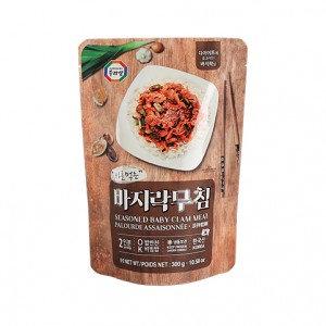 SURASANG Seasoned Baby Clam Meat 10.58 oz