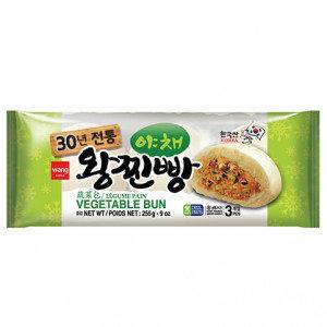WANG Vegetable Bun 9 oz