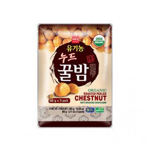 WANG Organic Roasted Peeled Chestnut 5x2.1 oz