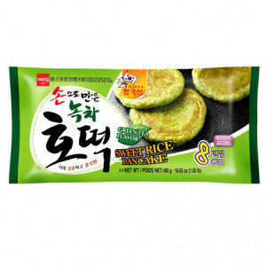 WANG Sweet Rice Pancake Green Tea Hotteok 480 g