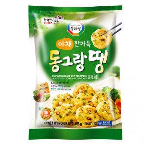 SURASANG Korean Flat Meatball Vegetable 1 Lb