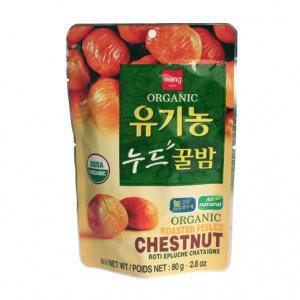 WANG Organic Roasted Peeled Chestnut 2.8 oz