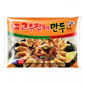 WANG Hot Pepper Japchae Dumpling 24 oz