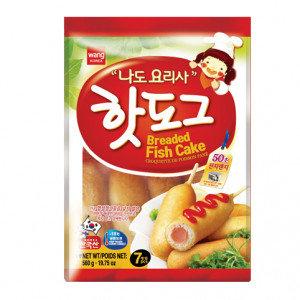 WANG Corn Dog w/ Fish Sausage 19.75 oz