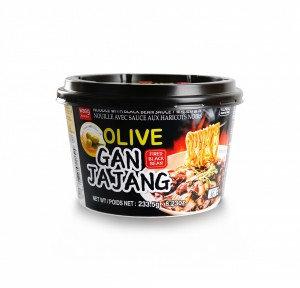 WANG Korean Black Bean Sauce Noodle w/ Olive Oil 8.23 oz
