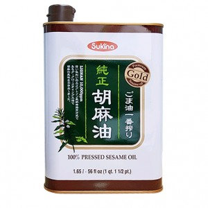 SUKINA Roasted Sesame Oil 56 fl oz