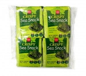 WANG Seasoned Seaweed Snack w/ Olive Oil 4x0.32 oz