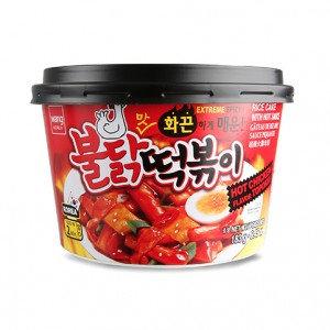 WANG Tteokbokki Rice Cake w/ Hot Sauce 6.45 oz