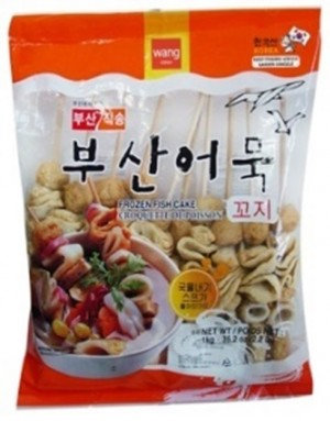 WANG Fish Cake w/Soup Assorted Skewered 1.77 Lb