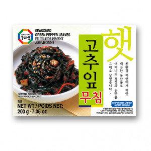 SURASANG Seasoned Green Pepper Leaves 7.05 oz