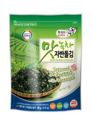 SURASANG Seasoned Seaweed Green Tea 2.11 oz
