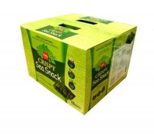 WANG Seasoned Seaweed Snack w/ Olive Oil Gift Box 18x0.35 oz