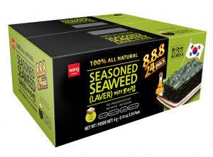 WANG Seasoned Seaweed Snack Gift Box 24x0.14 oz
