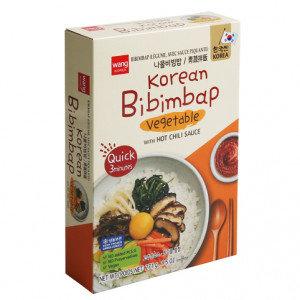 SURASANG Vegetable Bibimpap w/ Gochujang Sauce 9.5 oz