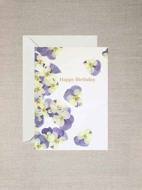 Happy Birthday Cards (Set of 5)