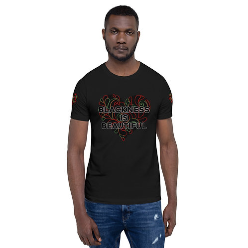 "#BlkLove ""Blackness is Beautiful"" Short-Sleeve Unisex T-Shirt"