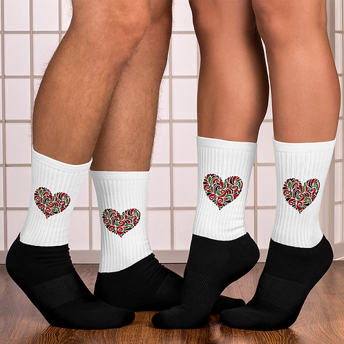 """""""BlkLove"""" Socks"""