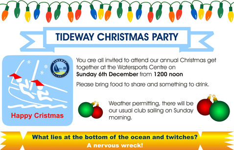 TIDEWAY CHRISTMAS PARTY