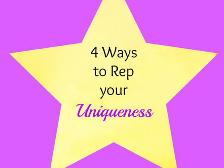 4 Ways to Rep Your Uniqueness