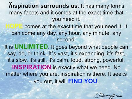 Inspiration Surrounds US