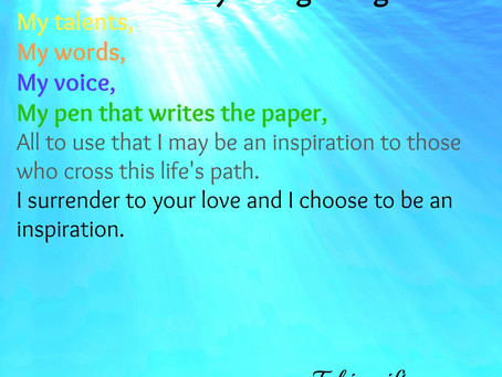 Inspiration A Surrender to Love