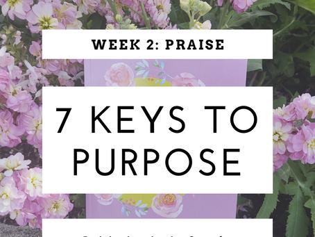 7 Keys To Purpose I Week 2: Praise