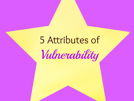 5 Attributes of Vulnerability