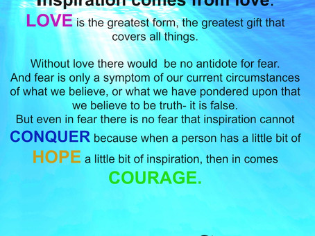 Inspiration is Love