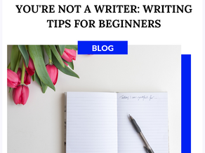 How Do You Write A Book If You're Not A Writer l Writing Tips For Beginners