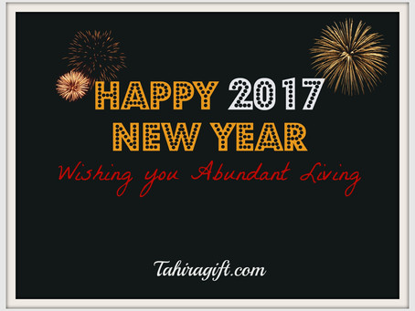 Happy New Year 2017 is here!