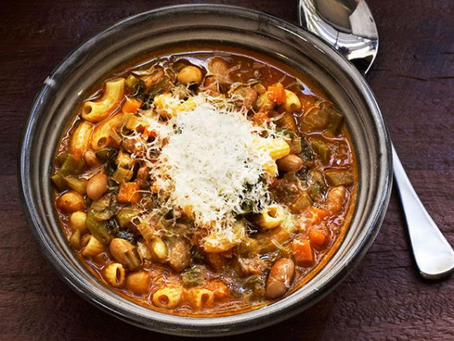 What to do with this week's winter veggies - the best minestrone ever!