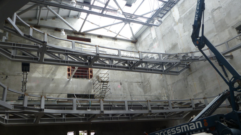 ISAAC THEATRE ROYAL STEEL WORK REBUILD