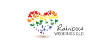 Rainbow Weddings Queensland logo