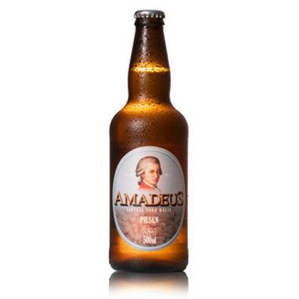 Cerveja Pilsen Puro Malte Amadeus 500 mL