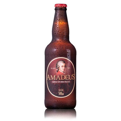 Cerveja Ipa India Pale Ale Amadeus 500mL