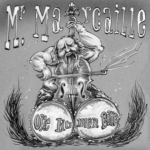 Mr Marcaille drawn by Rémi