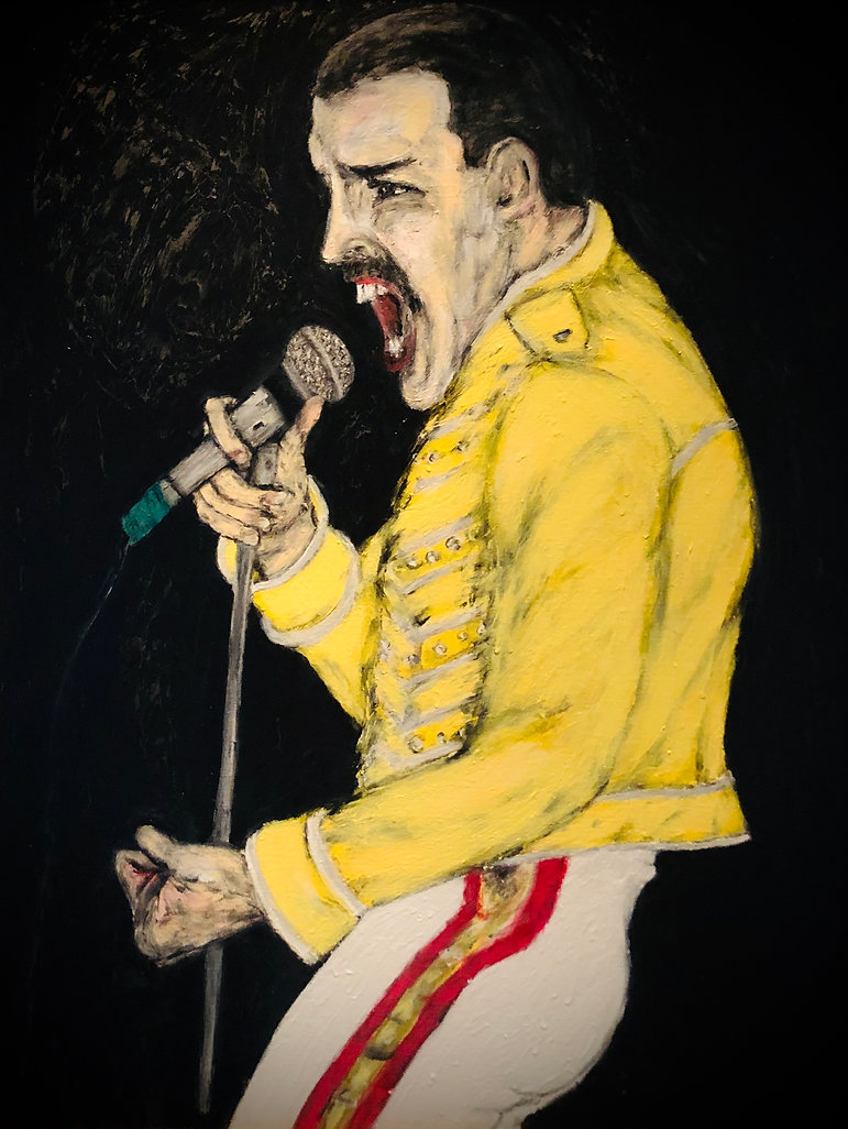 Freddie Mercury. Queen. The Icons Museum