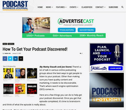 Podcast Business Journal