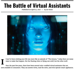 Virtual Assistants news article