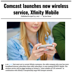Xfinity Comcast Mobile Article