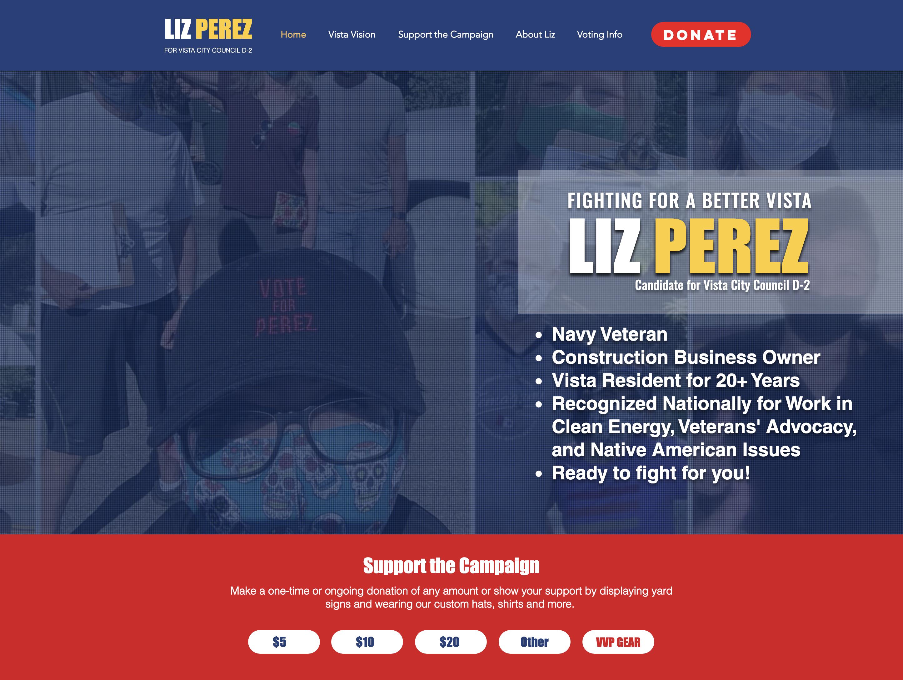 Vista Vote Perez