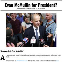 Evan McMullin Article