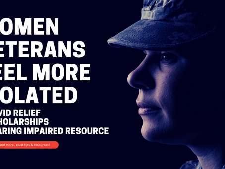 Women Veterans More Isolated