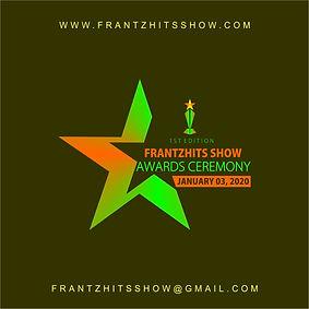 Logo Officiel FrantzHits Show Awards Cer