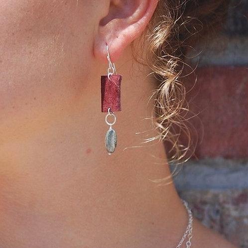 Athena Earrings- Silver