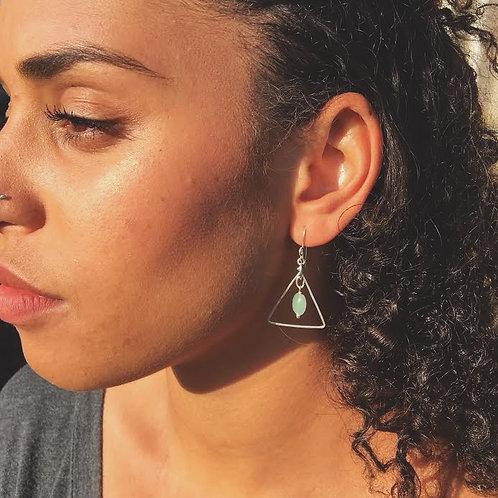 Hera Earrings- Silver