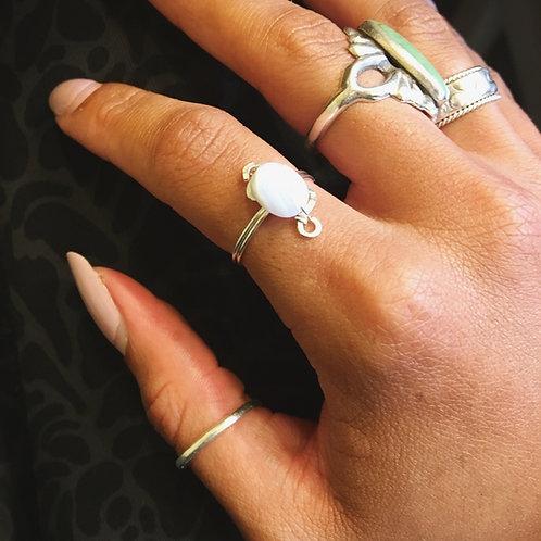 Selene Ring- Silver