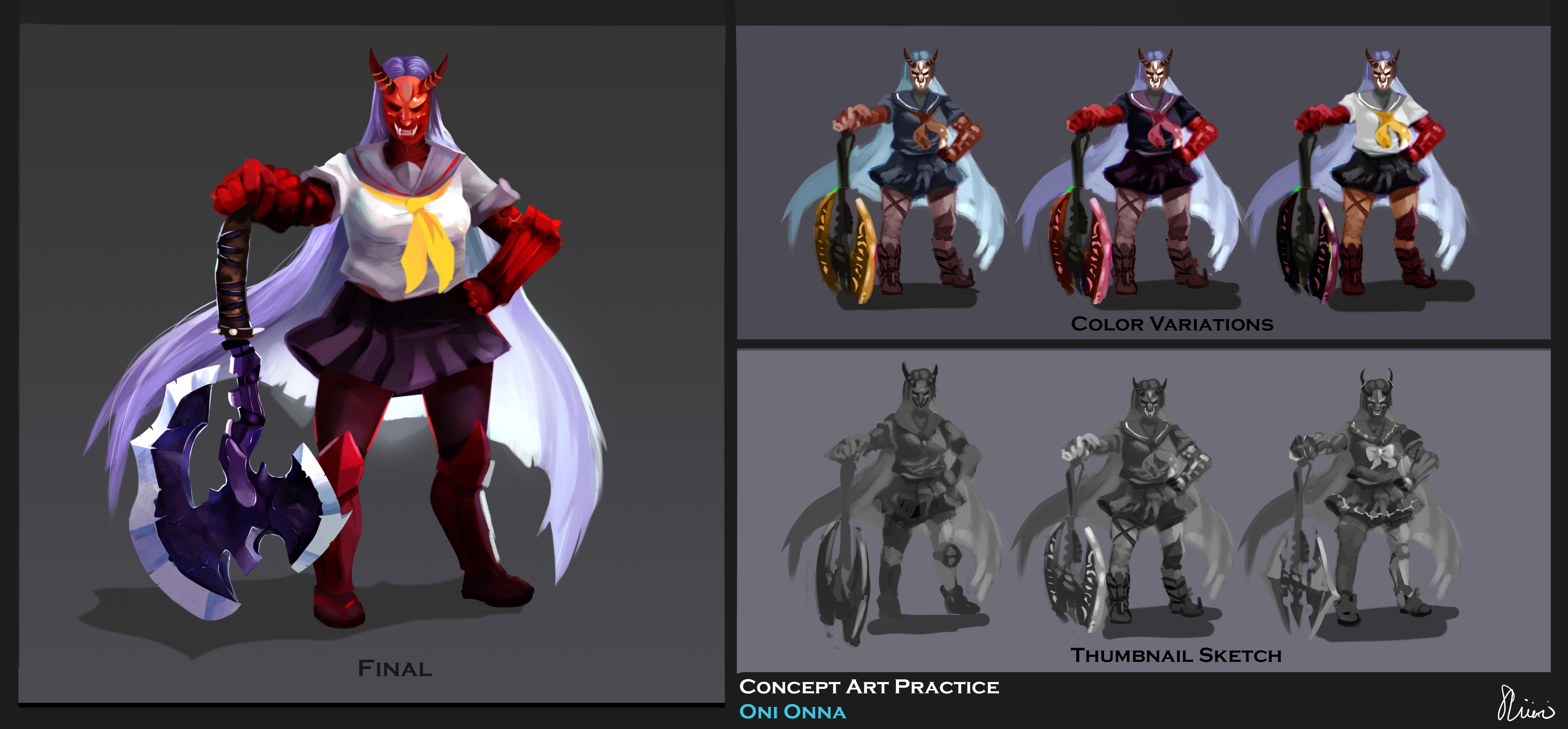 Demon Lady Concept