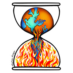 Time is Running Out-World on Fire